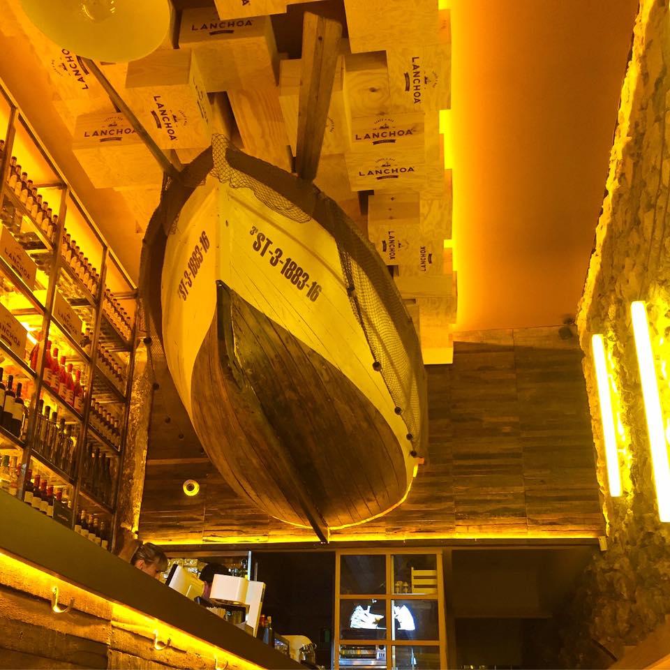 lanchoa santander bar de tapas Cantabria está de moda locales de moda en Santander