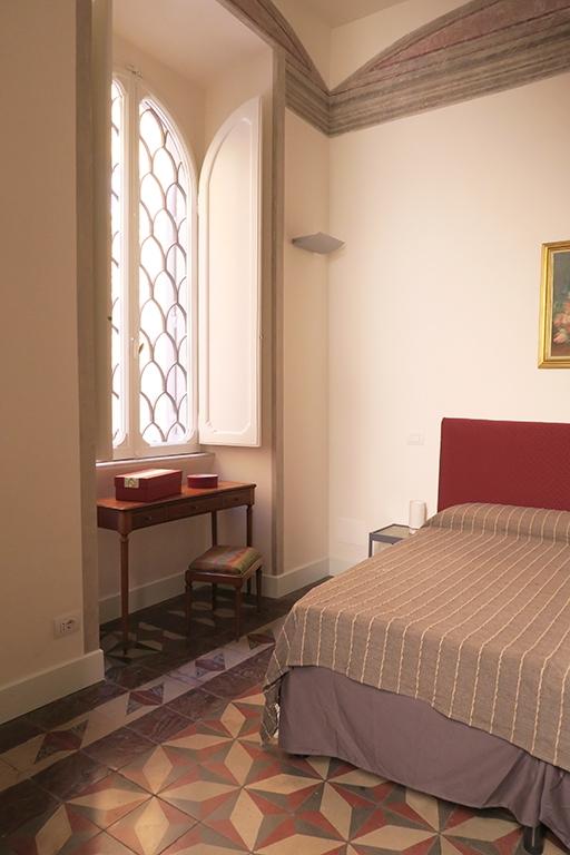 suelo hidráulico recuperado en apartamento de Roma. Francesca Bertuglia.
