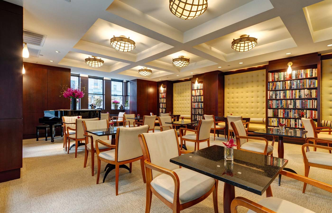 hoteles literarios library hotel New York-ruta-literaria-mientrasleo