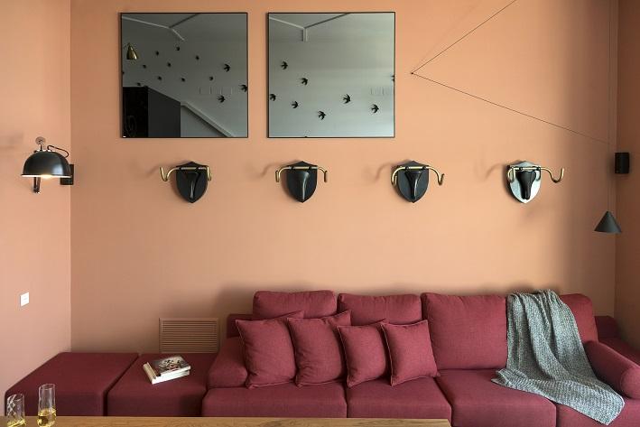 loft en Valencia para un single. Tiovivo Creativo estudio interiorismo . Suelo espiga ceramico