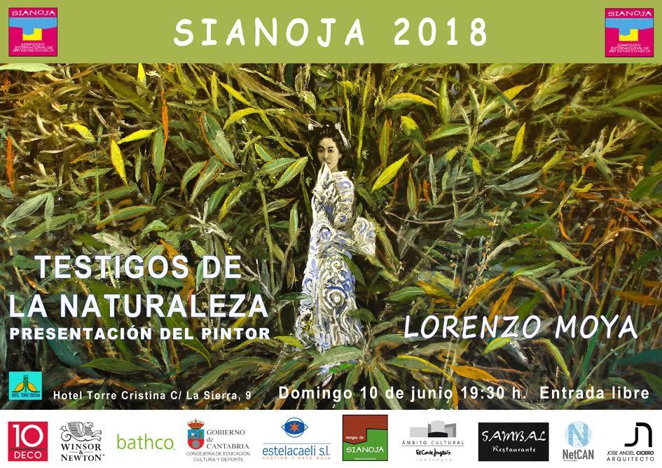 lorenzo moya pintor Chile. Sianoja 2018