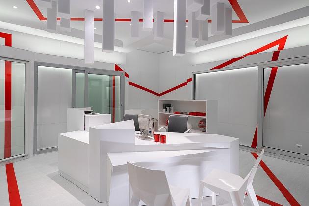 mara pardo estudio. Showroom ventanas Arsan Santander. Rehau, Cortizo, Velux 2