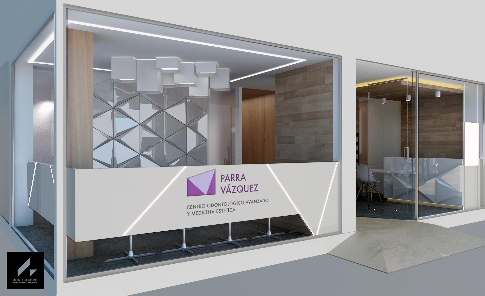 clinica dental Guadix Granada. Ag interiorismo. Dra Parra Velazquez