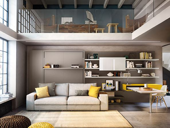 mueble multifuncion Clei . Aprovechar espacio 2