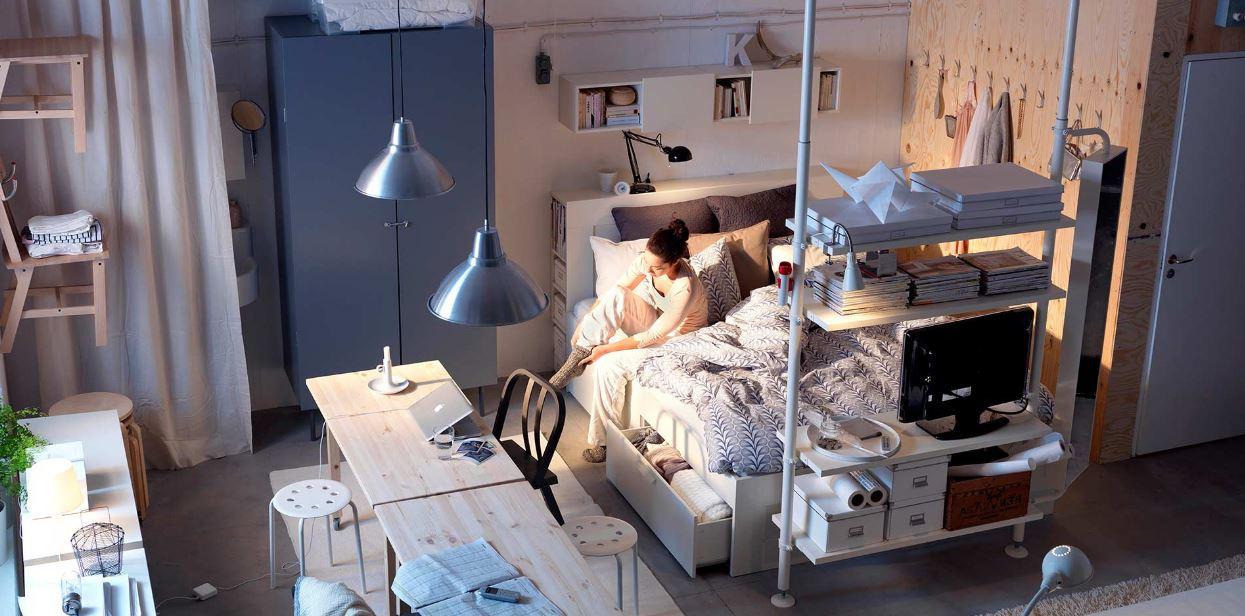 mueble multifuncion ikea . Aprovechar espacio