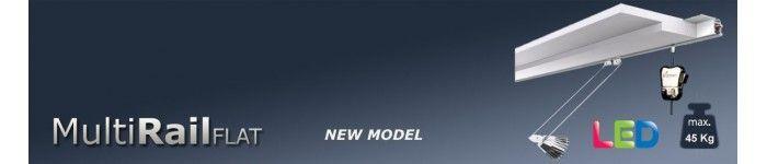 sistema para colgar cuadros multi-rail-flat-45-kg