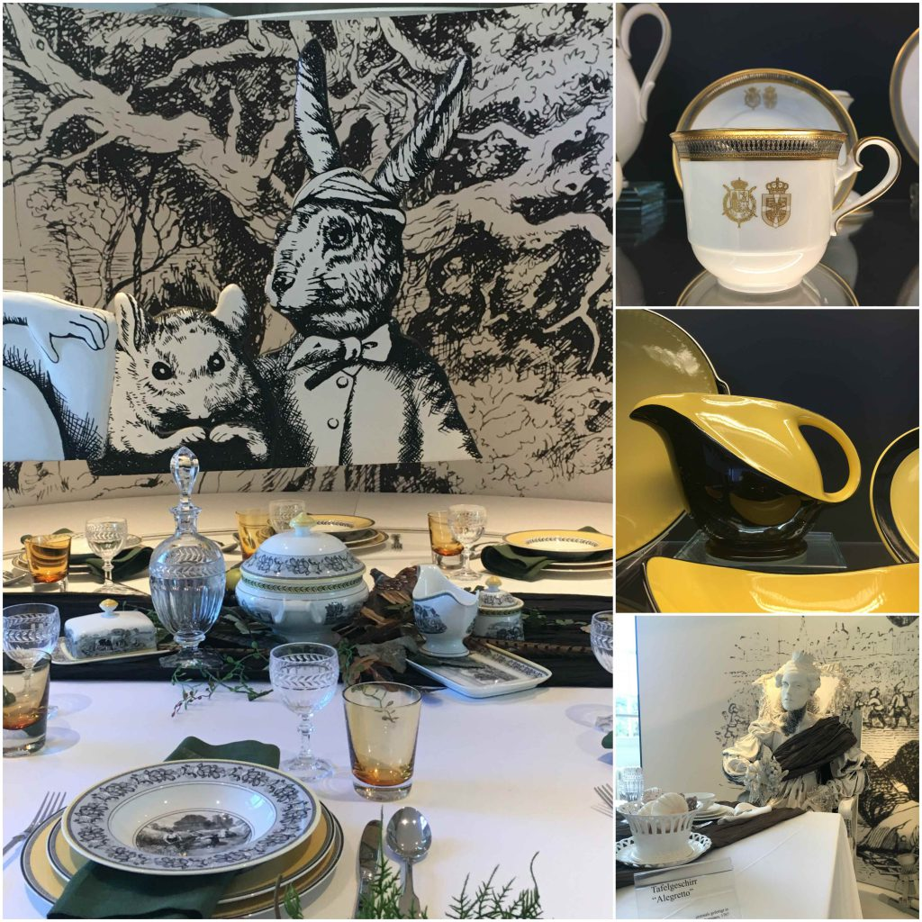 museo café villeroy boch mettlack porcelana