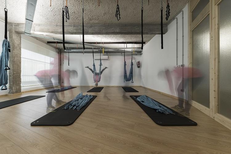 nan arquitectos centro de yoga y pilates SANASANA