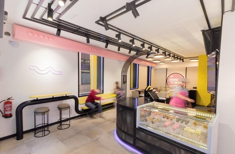 nueva heladería en Valencia Pops´n Bobs de Estudio Huuun