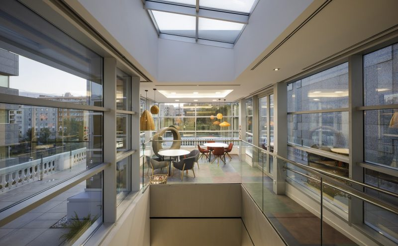 nuevas oficinas sostenibles INTU en el Paseo de la Castellana de Madrid.
