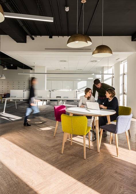 oficinas British telecom en Madrid. Proyecto workplace 3g office 1