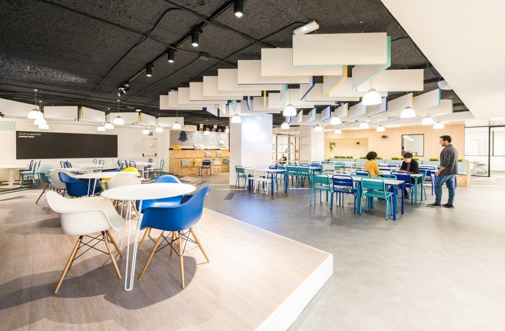oficinas banco wizink en madrid cafeteria