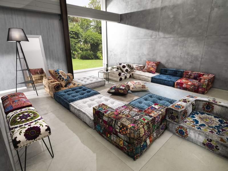 sofa estilo hindu oreste luchetta