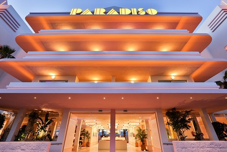 paradiso ibiza art hotel fachada. Diseño ilmiodesign