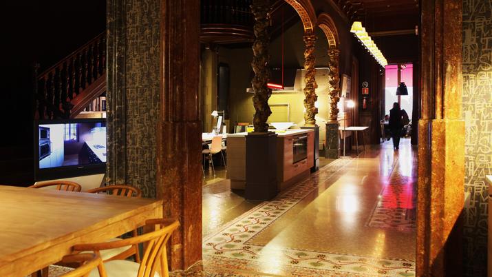 pasillo  Vincon Barcelona,  una tienda con historia.