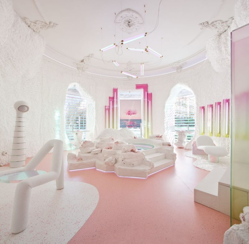 Espacio HANSGROHE, porPatricia Bustos Studio. . Casa Decor 2020
