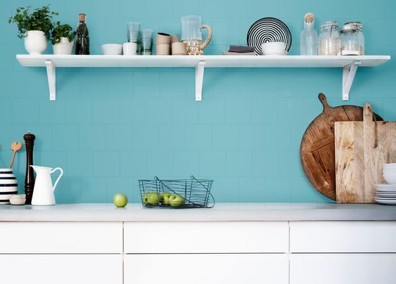 Awesome Pintar Azulejo Cocina. Azul Pacifico De Bruguer