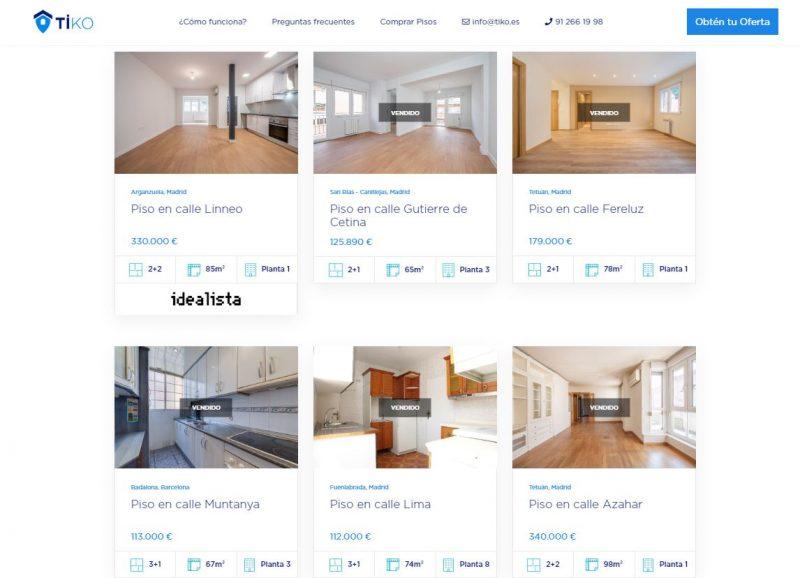 pisos en venta tiko