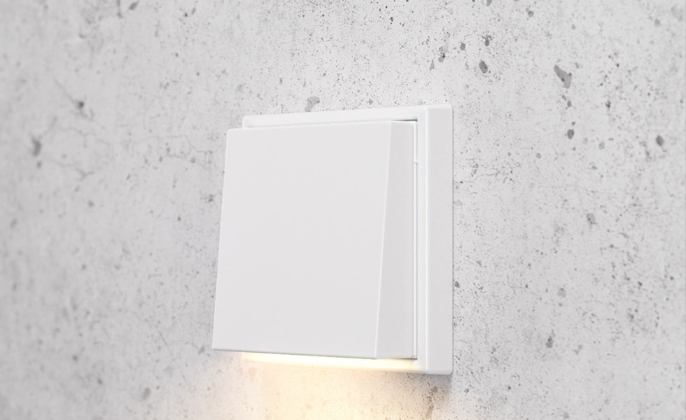 plug-light aplique . Señalética para hoteles inteligentes JUNG