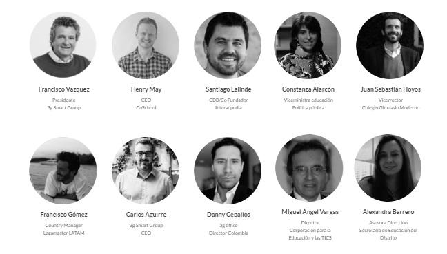 ponentes smart conversations educacion Bogotá
