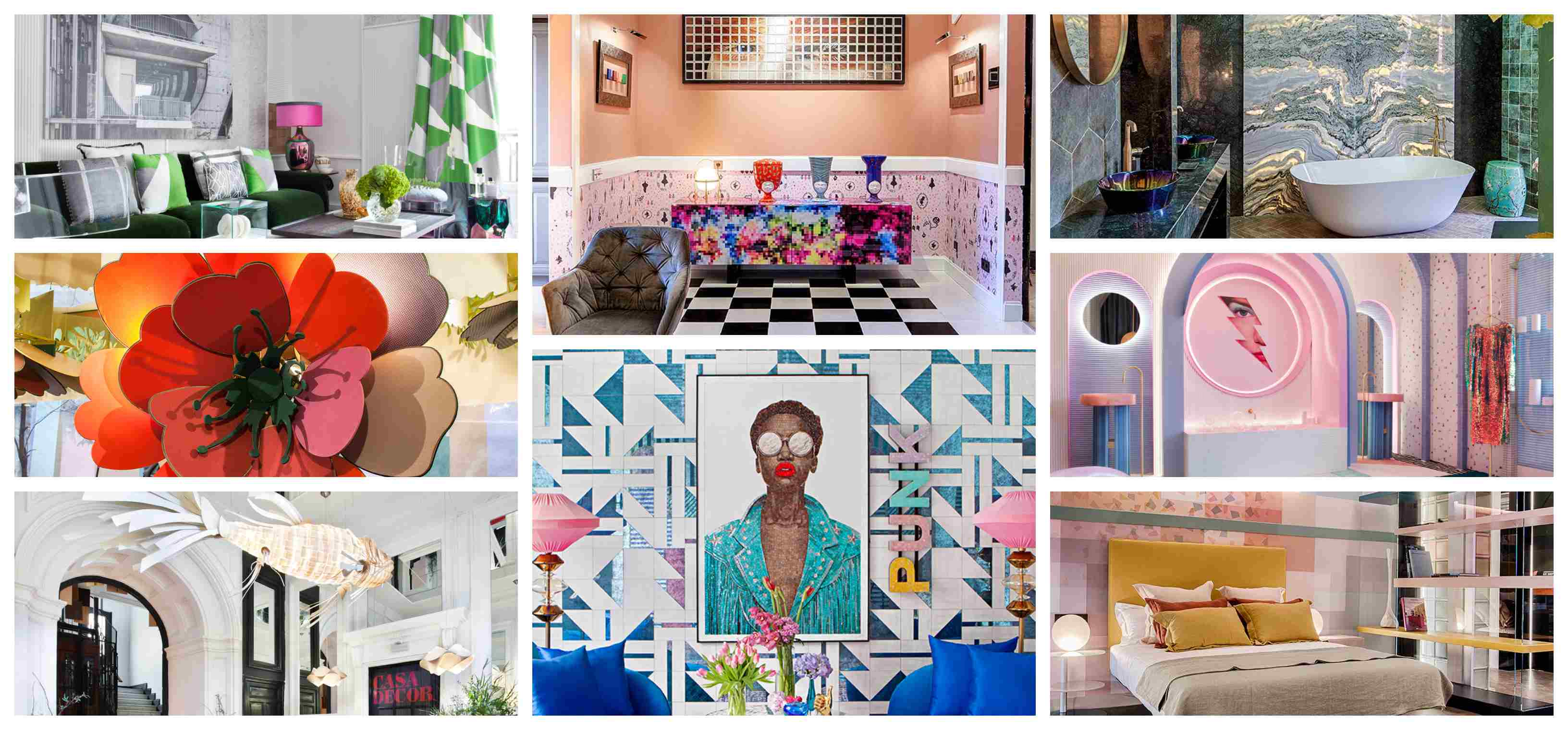 ESPACIOS CASA DECOR 2019 . Exposición interiorismo y Decoración en Madrid