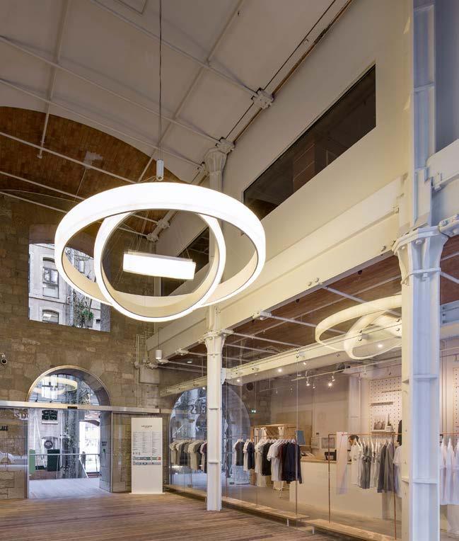 claves para una buena iluminacion centros comerciales y retail . Espacio aretha. lighting designer
