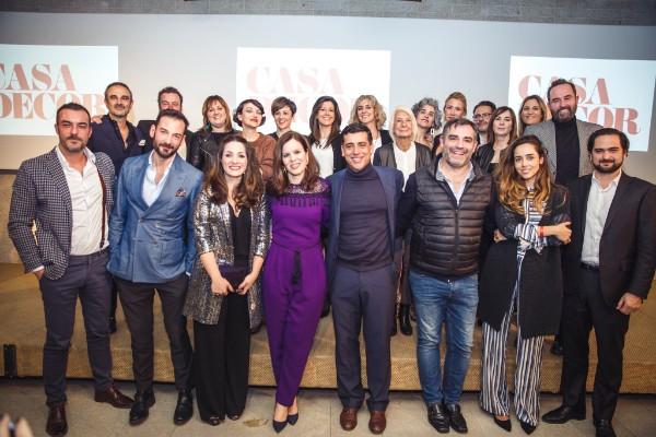 premios casa decor 2018. imagen de grupo