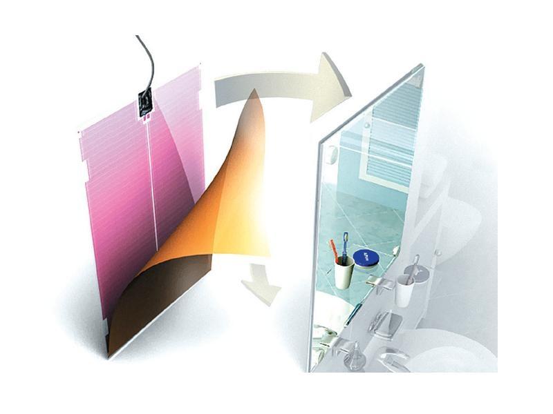 solucion antivaho para espejos Lámina Antivaho. Soluciones antivaho para espejos