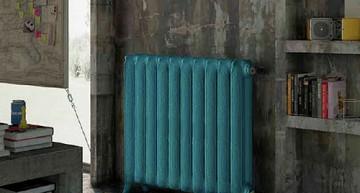 Cómo integrar  un radiador en la decoración