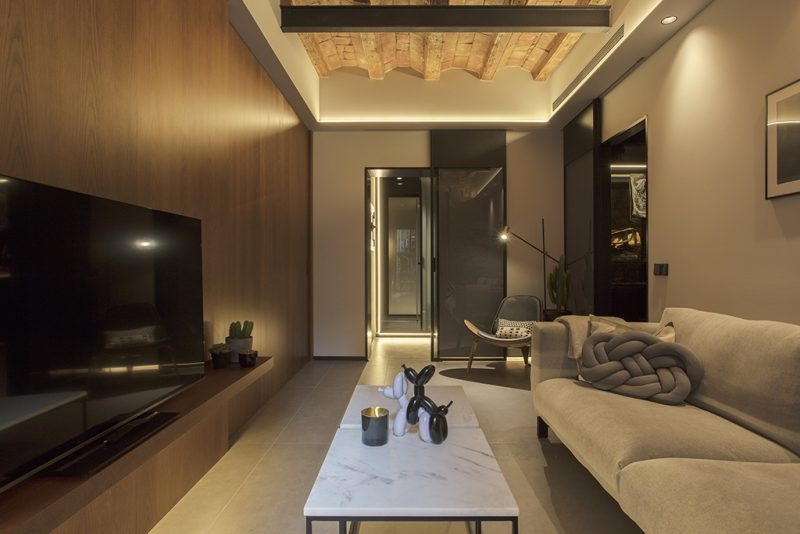 rehabilitacion en el Born Barcelona . Setrabe Arquitectura
