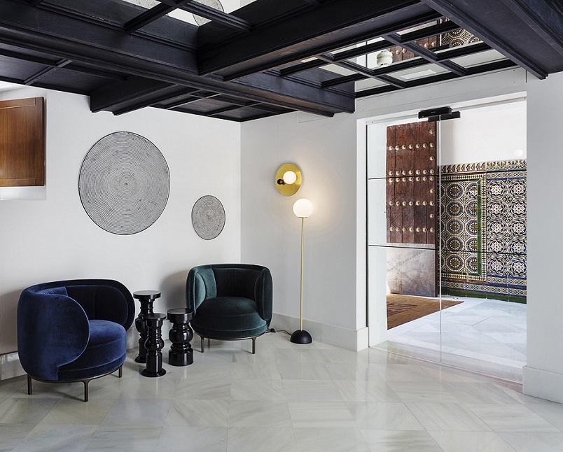 restauracion Hotel One Shot Palacio Conde de Torrejon Sevilla by Alfaro Manrique Atelier (