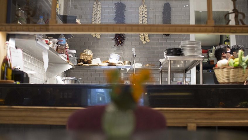 restaurante barcelona we bistrot . COCINA