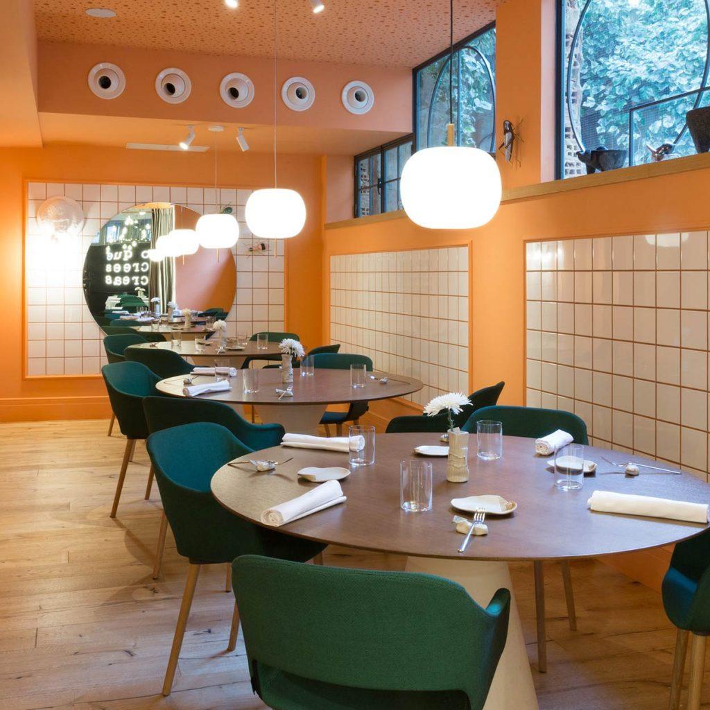 Restaurante en Logroño Juan Carlos Ferrando. Diseño interior comedor privado