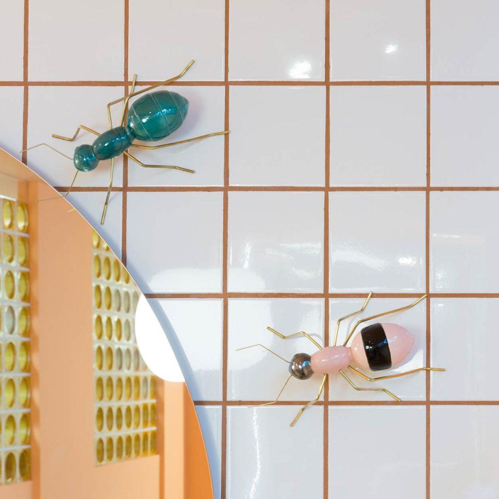 Restaurante en Logroño Juan Carlos Ferrando. Diseño interior mural cerámico Mambo Unlimited Ideas