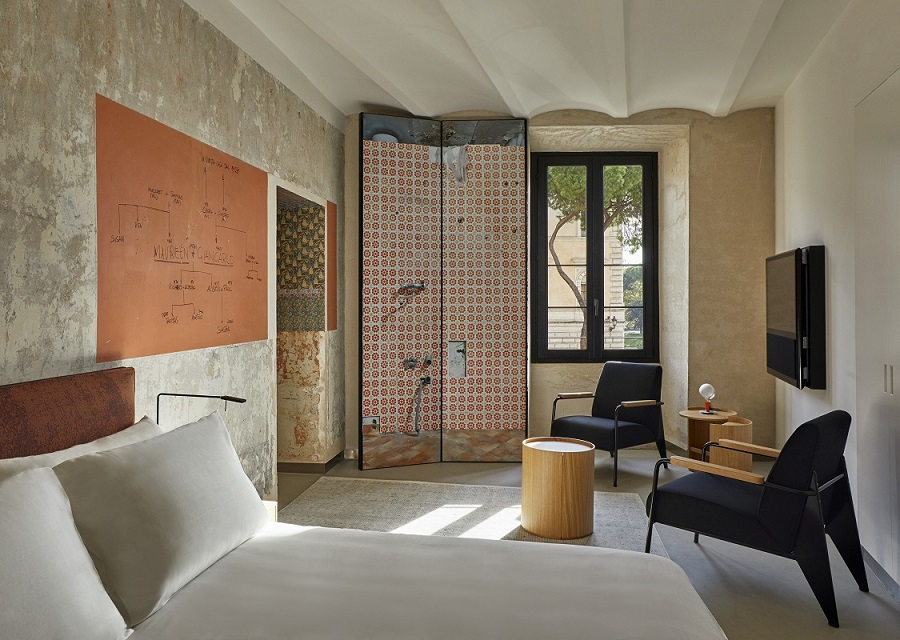 room mate roma. Rooms of Rome. proyecto de Jean Nouvel gestión Kike Sarasola