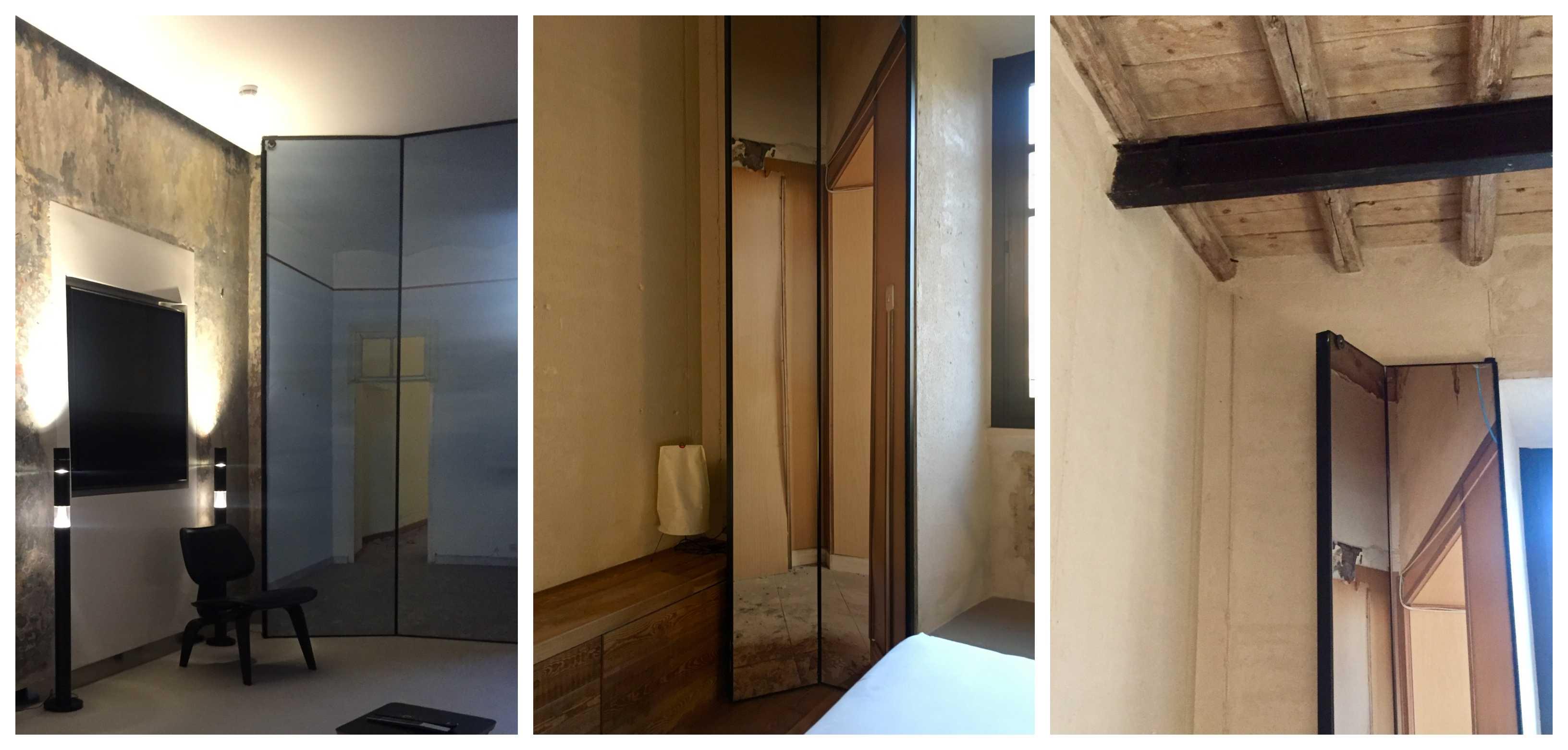 Jean Nouvel. rooms of rome Roma Fondazione Alda Fendi. Room Mate. Detalle contraventanas