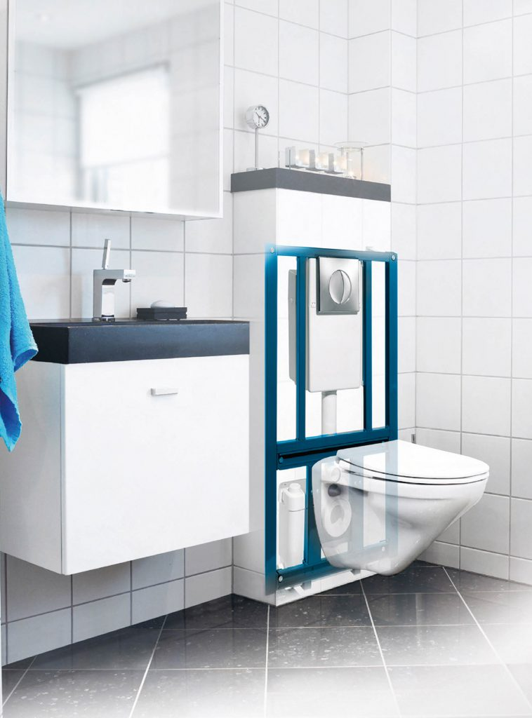 SANIWALL sanitrit para inodoro suspendido