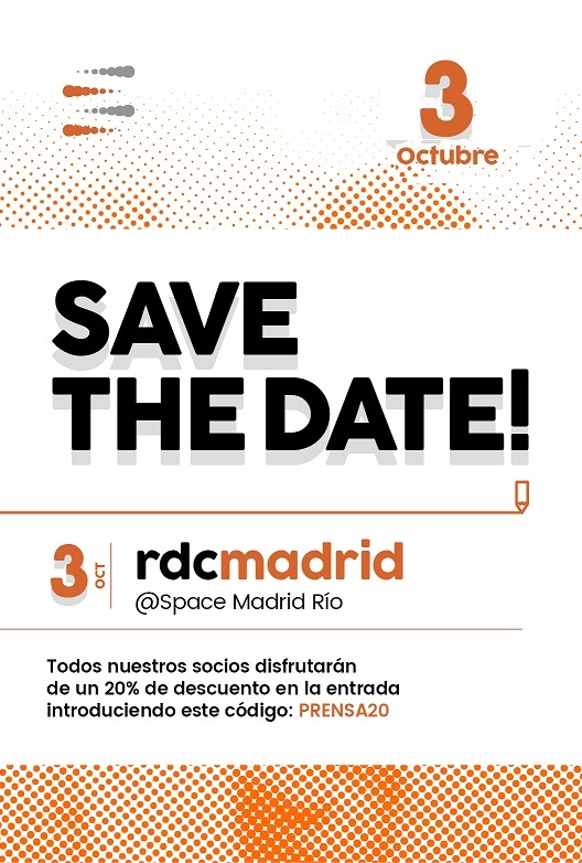 save the date retail conference 3g smart group madrid. La revoluciónd el retail