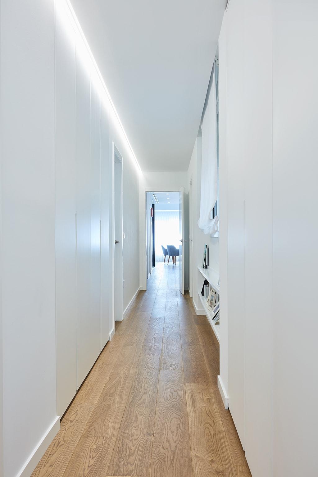 setrabe arquitectura valencia. reforma vivienda en ruzafa Tarima de roble Galiana