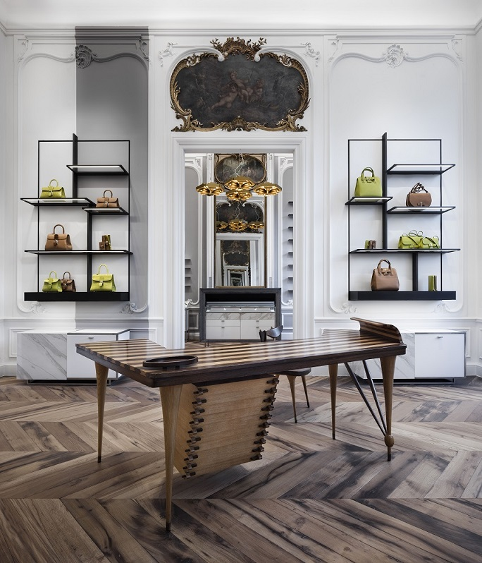 showroom le 27 Delvaux Bruselas by Vudafiero Saverino Partners expositores