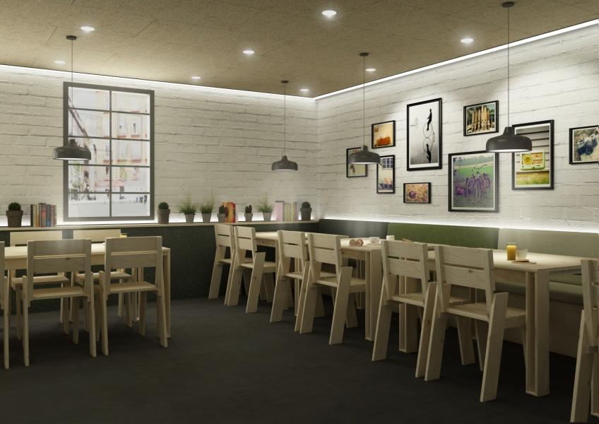 silla-landa para restaurantes. Muebles Lufe. El ikea Vasco