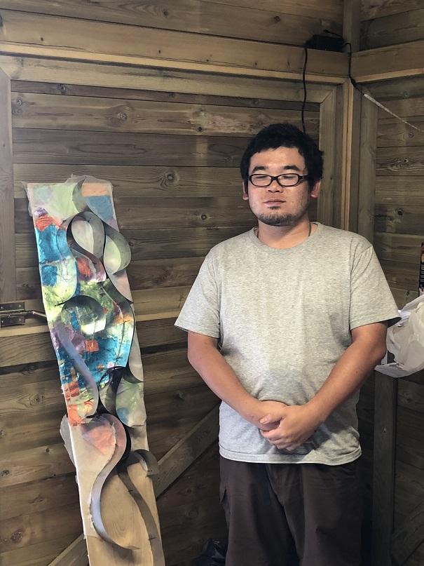 simposio internacional de artistas sianoja 2018 MASAHIRO OKAWA . JAPON