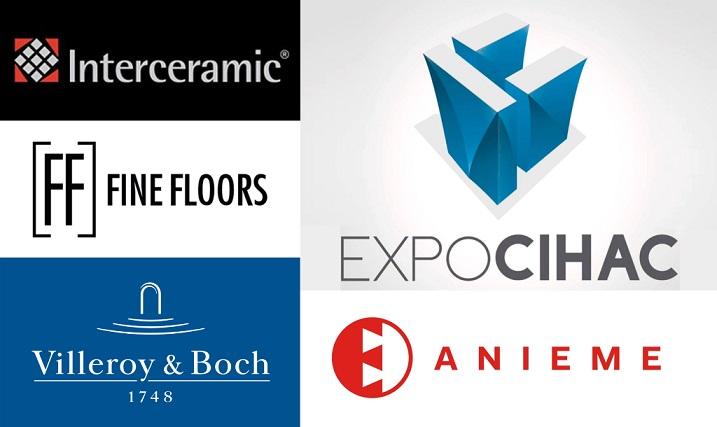 sponsor bienal de interiorismo cidi. interceramic, fine floors, anieme, villeroy boch, expo cihac WWBID 2018/19