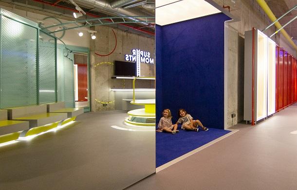 supermoments nuevo concepto retail tienda infantil diseno de culdesac Centro comercial Aqua Valencia