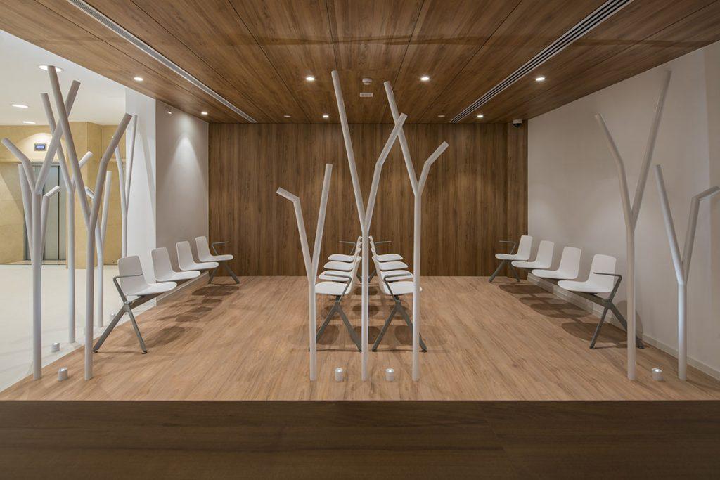 susanna cots . slow design, diseño clinica sant josep manresa. fundacion althaia