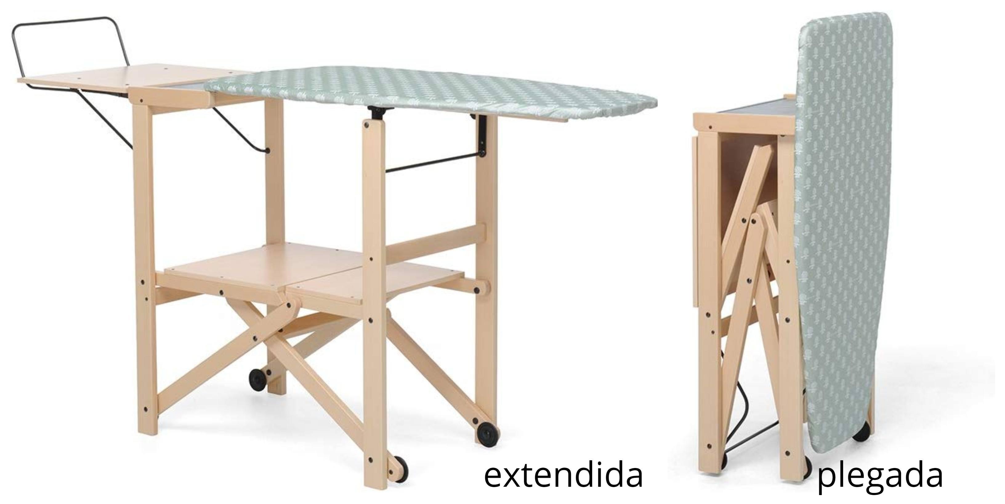 tabla de planchar autoportante de madera plegable foppapedretti