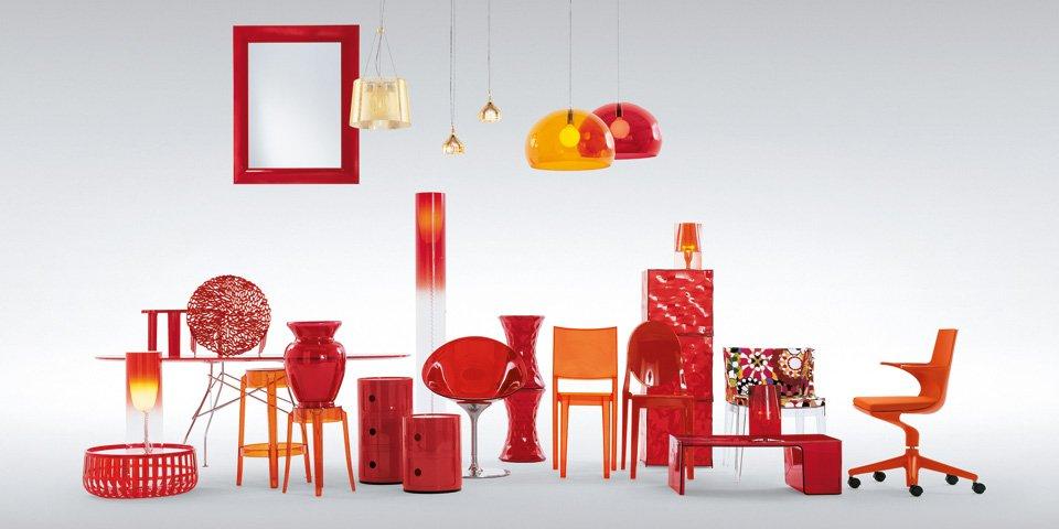 kartell Color y bienestar. como influye el color rojo