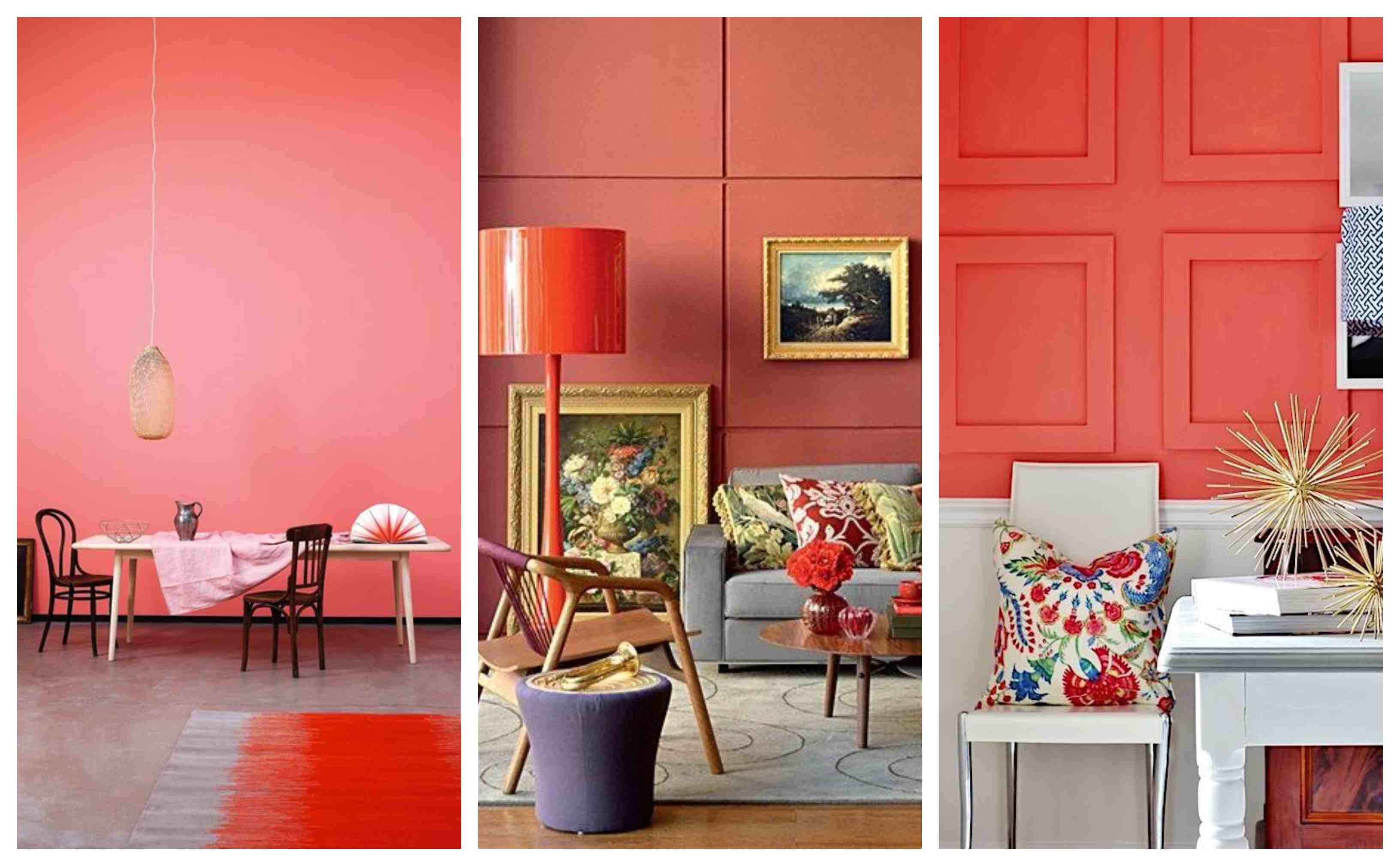 tendencias en decoracion 2019 living coral decoracion