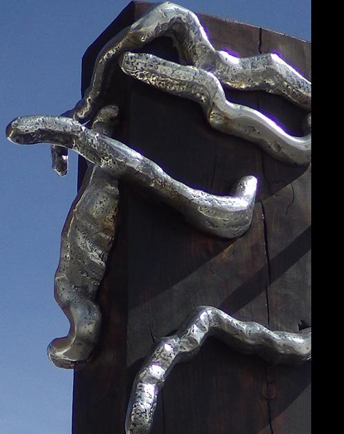 totem david marshall escultura