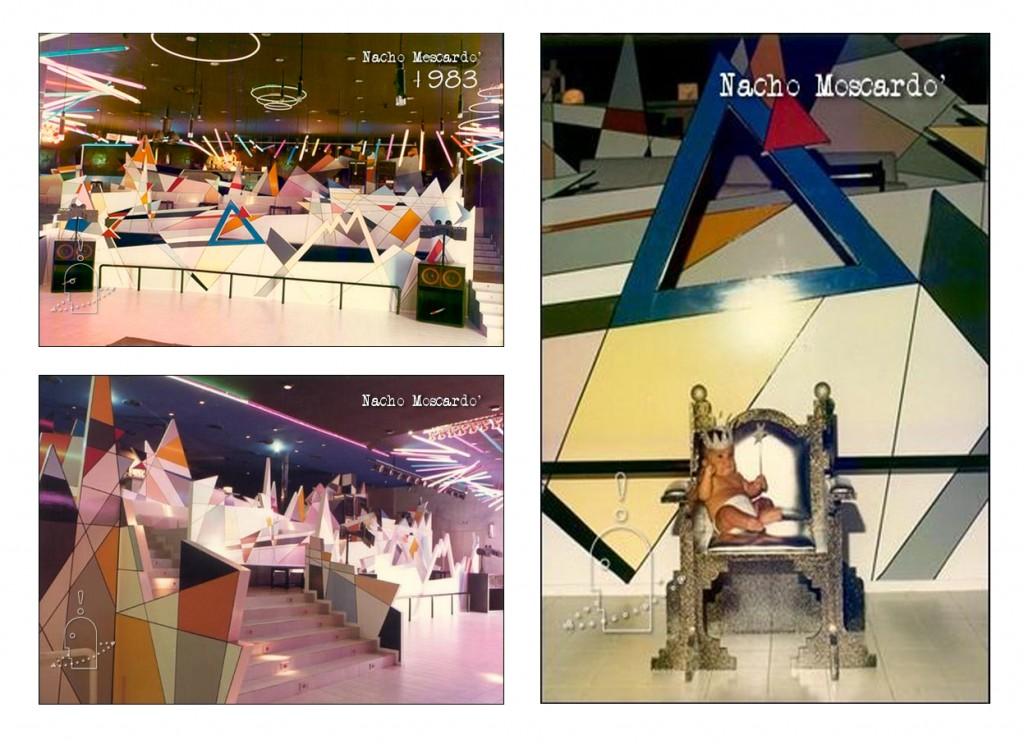 Triplex Discoteca Triplex Valencia. Diseño Nacho Moscardó Años 80. Movida Valenciana Ruta del bakalao
